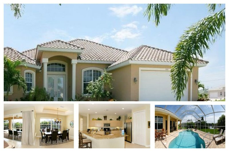 Elegant 3 bedroom Cape Coral vacation home- Pet friendly- Stunning large pool- Amazing kitchen - Image 1 - Matlacha - rentals