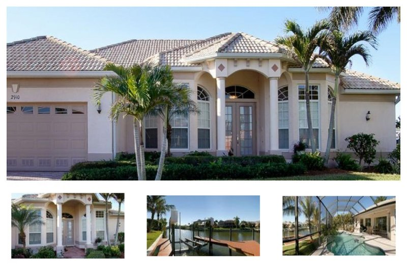 On the canal- Pool with southern exposure- 3 bedroom gorgeous luxury villa- Boat dock and lift - Image 1 - Matlacha - rentals