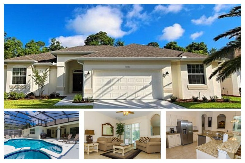 Beautiful 5 Bed Home with Pool, Spa, Games Room - Image 1 - Davenport - rentals