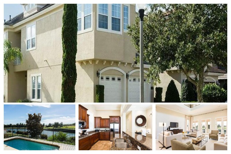 Stunning 4 Bed Home with Private Pool, Lake View - Image 1 - Loughman - rentals