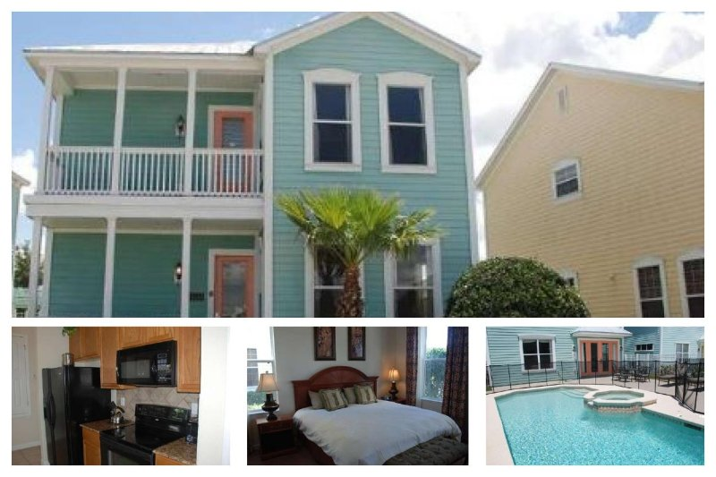 Private screened pool and spa, 4 bedrooms, 5 miles to Disney - Image 1 - Loughman - rentals