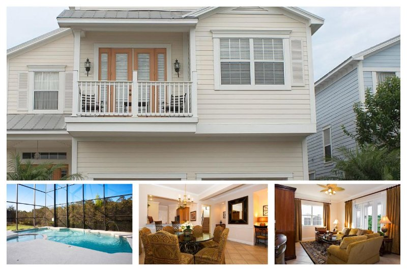 Beautiful 5 Bed Family Home with Private Pool - Image 1 - Reunion - rentals
