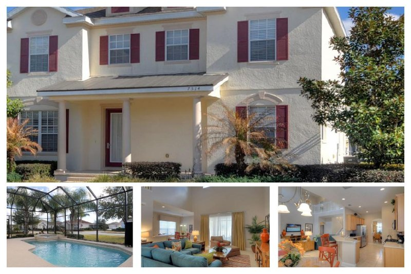 Fantastic 5 Bed Family Home with Private Pool, Spa - Image 1 - Reunion - rentals