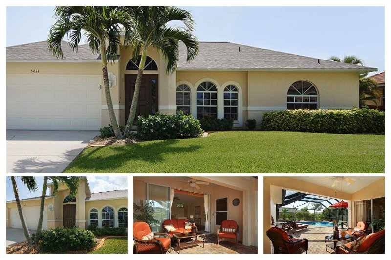 Luxury 3 Bedroom Home with Private Pool - Image 1 - Cape Coral - rentals