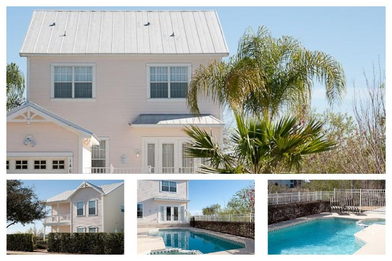 Stunning 4 Bed Family Home with Private Pool/Spa - Image 1 - Celebration - rentals