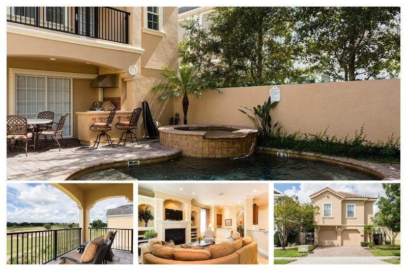 Luxury 5 Bed Home - Pool, Overlooking Golf Course - Image 1 - Reunion - rentals