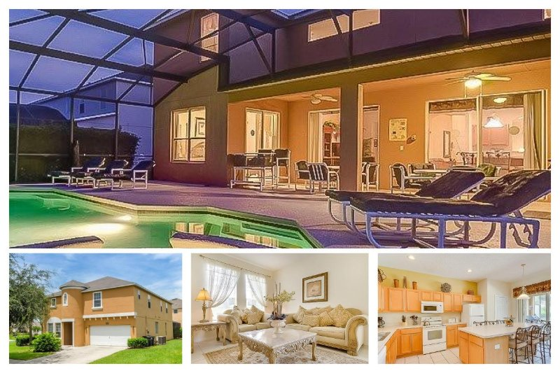 Luxury Family Home with Pool, Close to Disney! - Image 1 - Four Corners - rentals