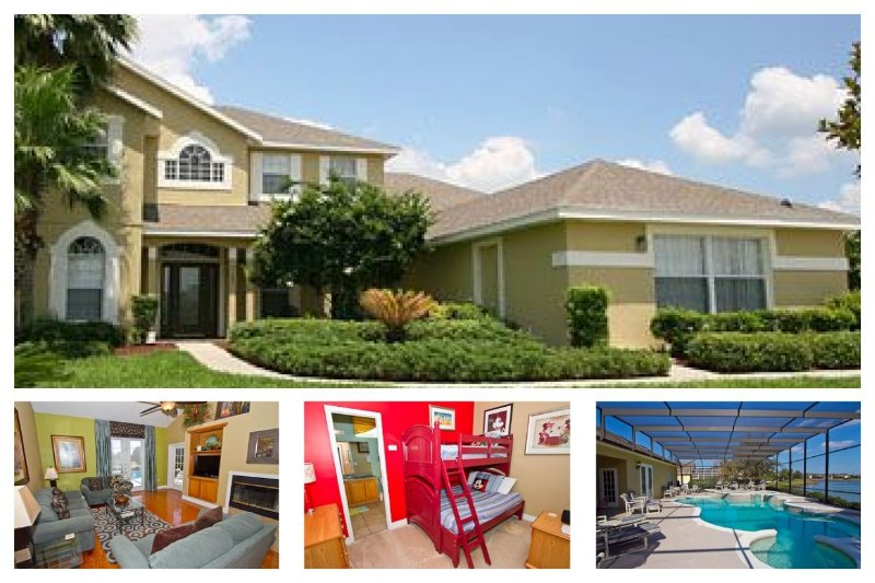 Executive 7 Bed Lakefront Home - 2 Miles to Disney - Image 1 - Reunion - rentals