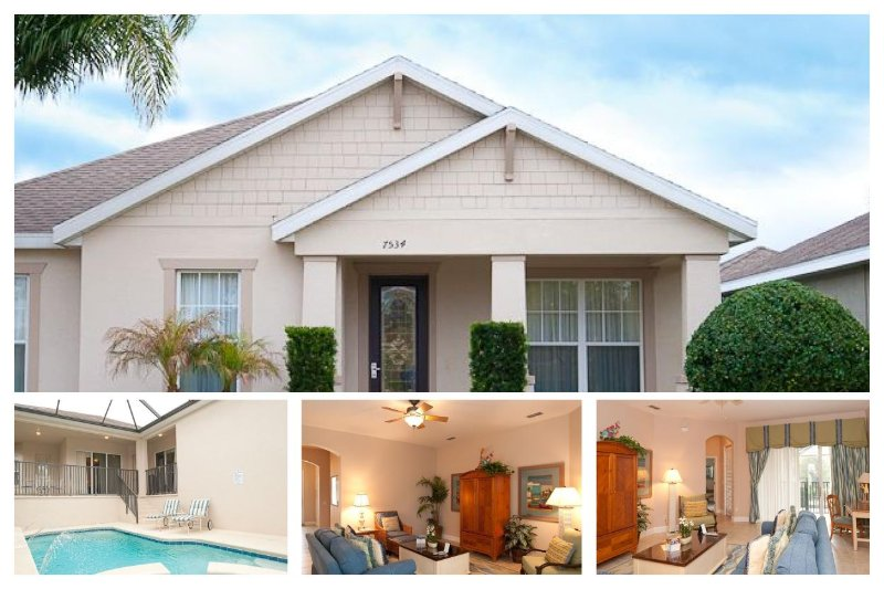 Luxury 4 Bed Family Home with Private Pool, WiFi - Image 1 - Reunion - rentals