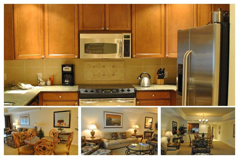 Luxury 3 Bed Apartment with Golf Views, WiFi - Image 1 - Reunion - rentals