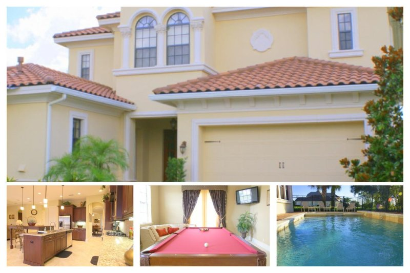 Luxury Family Home with Pool, Close to Disney! - Image 1 - Reunion - rentals