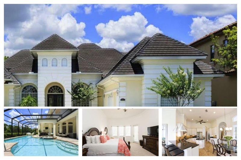 A stunning 6 bedroom 5 bathroom Reunion home with cinema, games room and beautiful private pool - Image 1 - Reunion - rentals