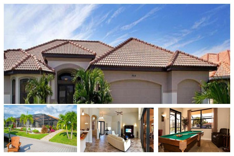 Amazing Waterfront Family Home - Private Pool, Spa - Image 1 - Cape Coral - rentals