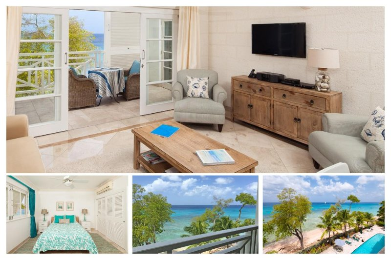 Luxury Apartment with Beautiful Ocean View - Image 1 - Paynes Bay - rentals