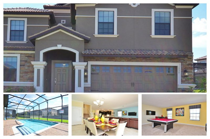 Luxury Family Home with Private Pool, near Disney - Image 1 - Four Corners - rentals