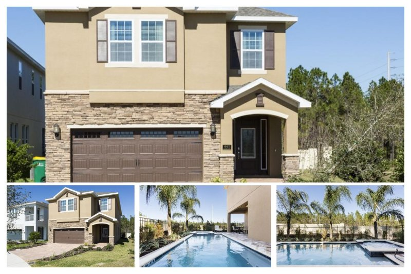 Luxury 8 Bed Home with Private Pool, Near Disney - Image 1 - United States - rentals