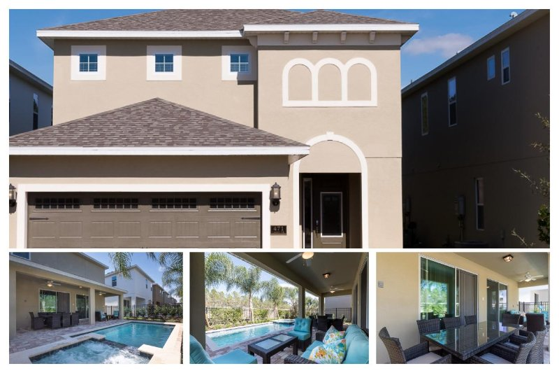 Luxury 5 Bed Villa with Pool and Spa, Near Disney - Image 1 - United States - rentals