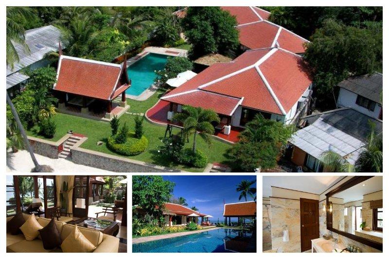 Bangrak 5004 - Luxury Beachfront With Chef Service - Image 1 - Bophut - rentals