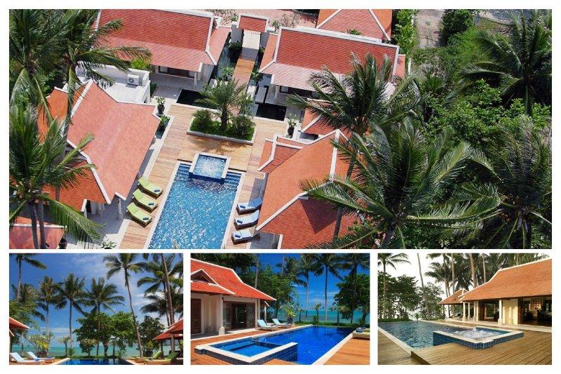 Lipa Noi 5009 -Luxury Beachfront with Chef Service - Image 1 - Lipa Noi - rentals