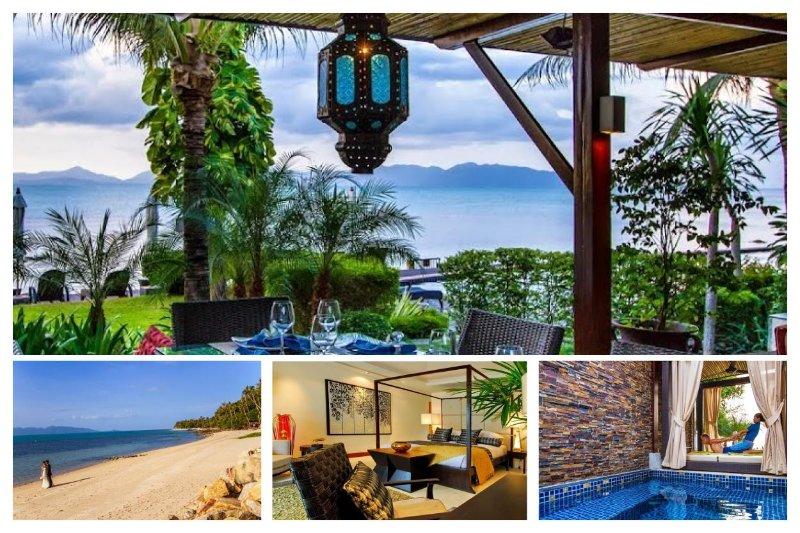 Bang Por 5014 -Luxury Beachfront with Chef Service - Image 1 - Mae Nam - rentals