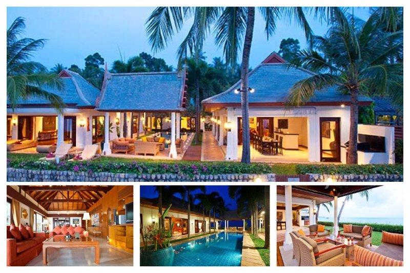 Maenan 5017 - Luxury Beachfront With Chef Service - Image 1 - Mae Nam - rentals