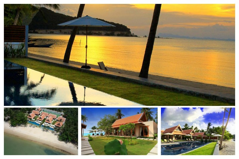 Lipa Noi 5027 -Luxury Beachfront with Chef Service - Image 1 - Lipa Noi - rentals