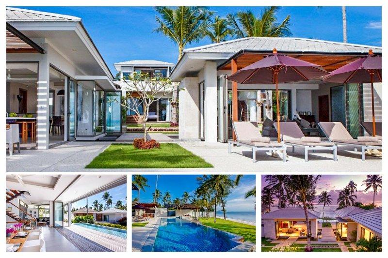 Lipa Noi 8032 -Luxury Beachfront with Chef Service - Image 1 - Lipa Noi - rentals