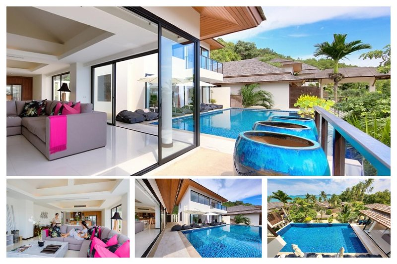 Bophut 3068 - Infinity-Edge Pool And Seaviews - Image 1 - Mae Nam - rentals