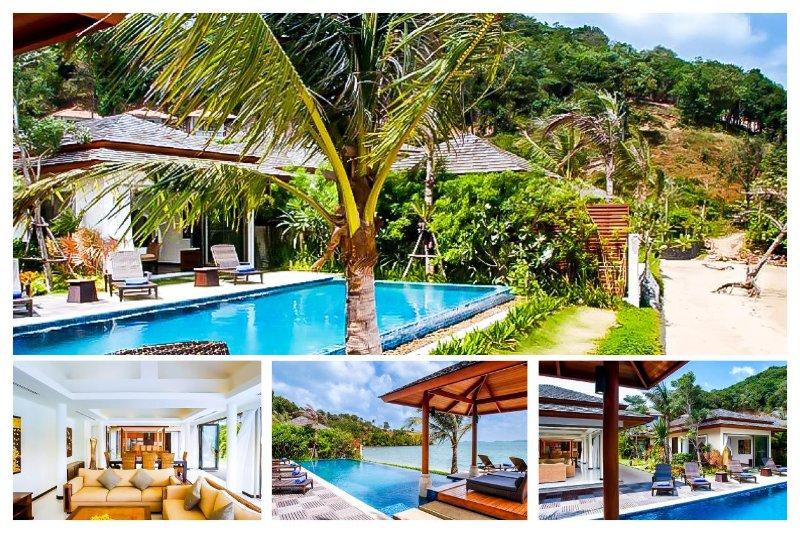 Bophut 4054 - Luxury Beachfront With Chef Service - Image 1 - Mae Nam - rentals