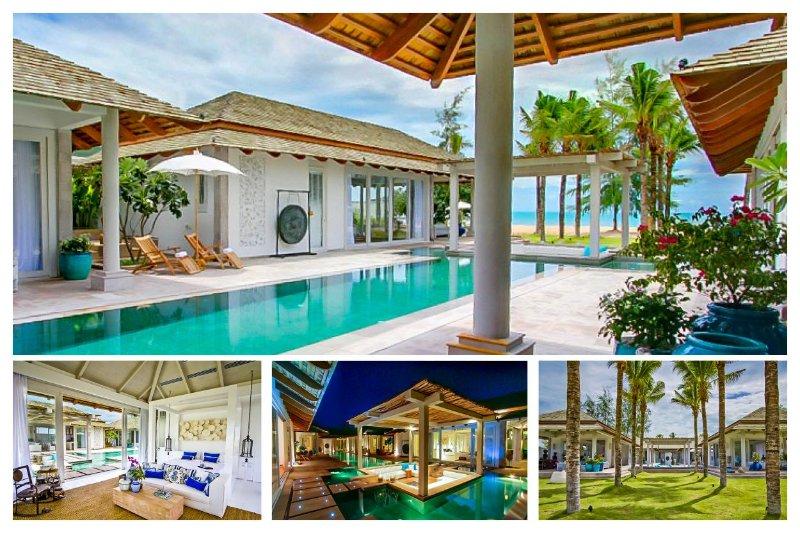 Chaweng 5066 - Luxury Beachfront With Chef Service - Image 1 - Bophut - rentals