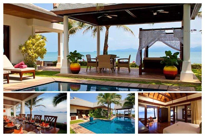 Maenanm 4082 - Luxury Beachfront With Chef Service - Image 1 - Mae Nam - rentals