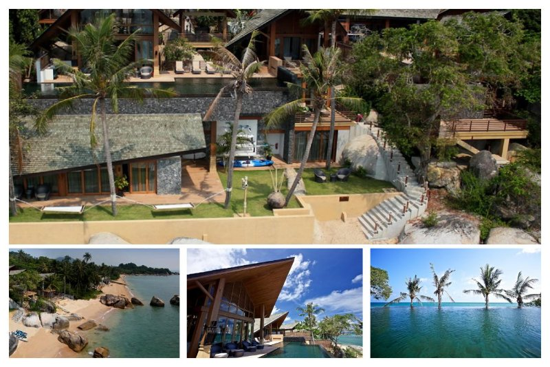 5144 - BEACHFRONT LUXURY WITH CHEF - Image 1 - Lamai Beach - rentals