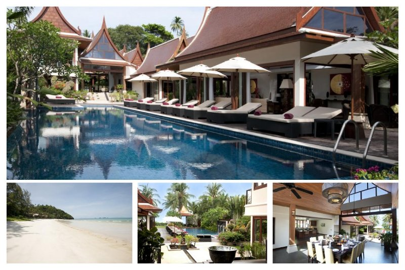 Lipa Noi 5148 -Luxury Beachfront with Chef Service - Image 1 - Lipa Noi - rentals