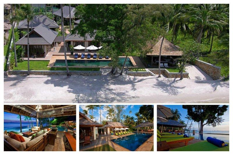 Lipa Noi 6153 -Luxury Beachfront with Chef Service - Image 1 - Lipa Noi - rentals