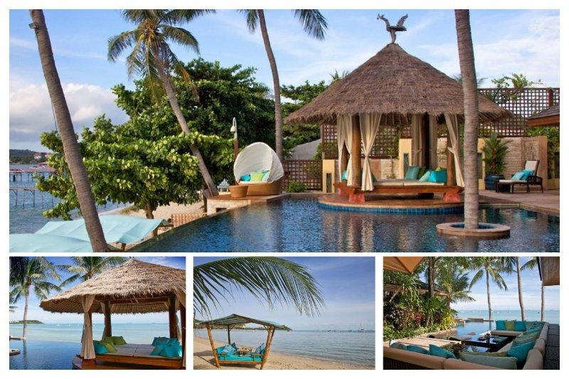 Bangrak 9049 - Luxury Beachfront With Chef Service - Image 1 - Bophut - rentals