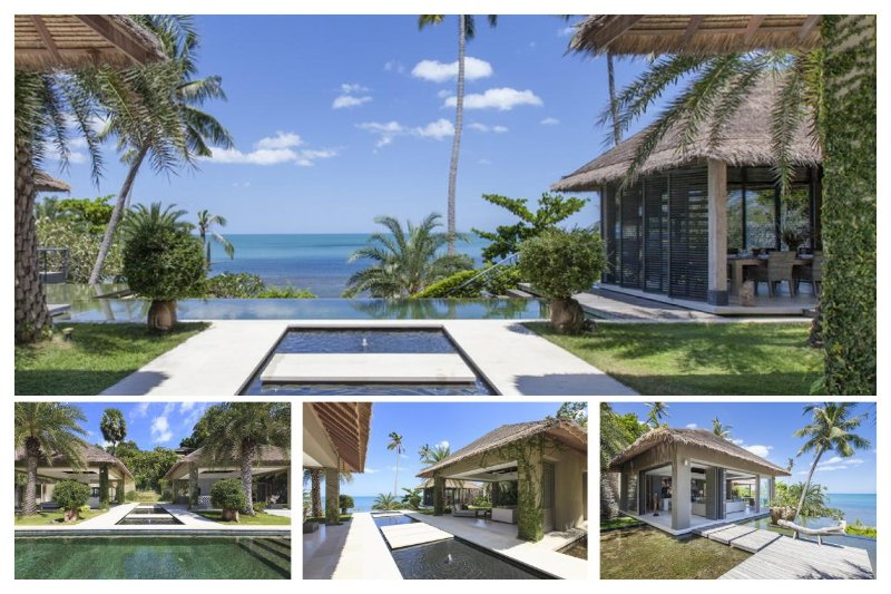 Chaweng 6167 - Luxury Beachfront with Chef Service - Image 1 - Bophut - rentals