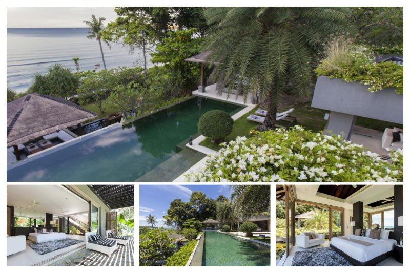 Chaweng 6168 - Luxury Beachfront with Chef Service - Image 1 - Bophut - rentals