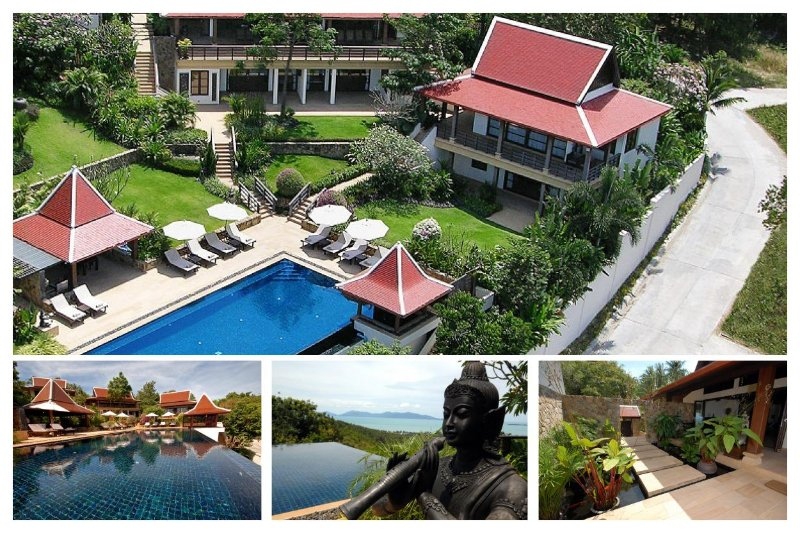 Bophut 5174 - Spacious With Large Pool And Chef - Image 1 - Mae Nam - rentals