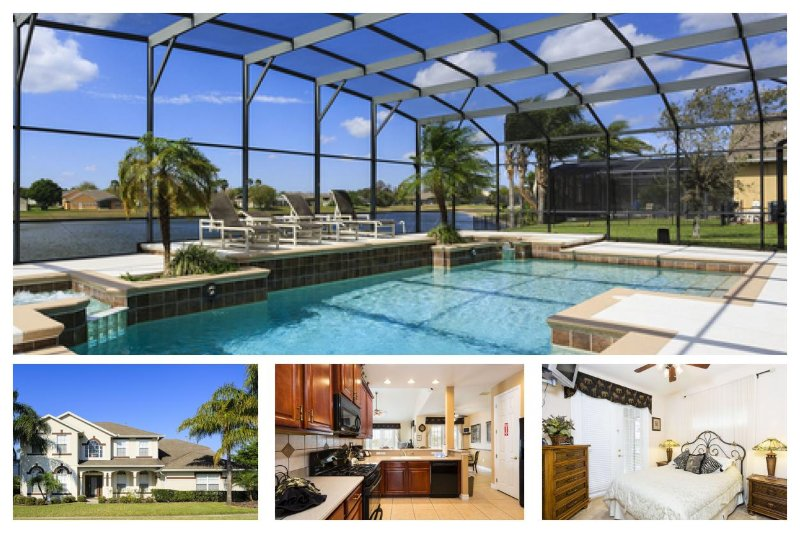 Luxury 7 Bed Home with Pool - Minutes to Disney! - Image 1 - Four Corners - rentals