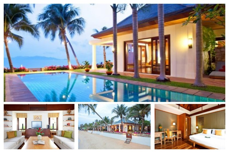 5091 - BEACHFRONT LUXURY WITH CHEF SERVICE - Image 1 - Mae Nam - rentals