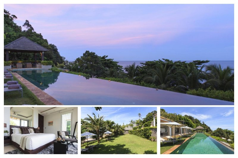 Chaweng 3166 - Luxury Beachfront with Chef Service - Image 1 - Bophut - rentals