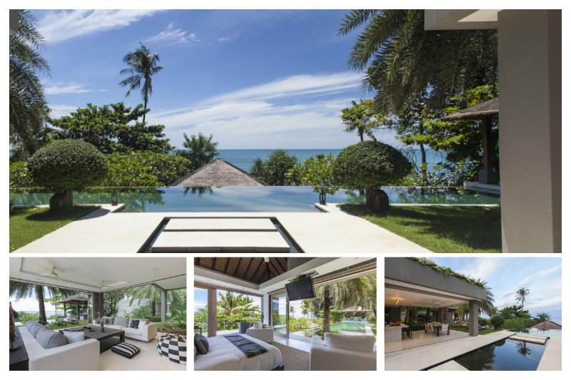 Chaweng 3168 - Luxury Beachfront with Chef Service - Image 1 - Bophut - rentals