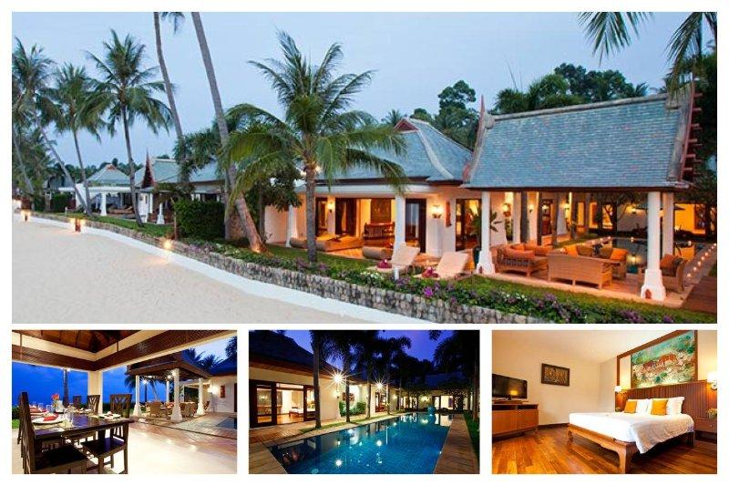 Maenam 3017 - Luxury Seaview With Chef Service - Image 1 - Mae Nam - rentals