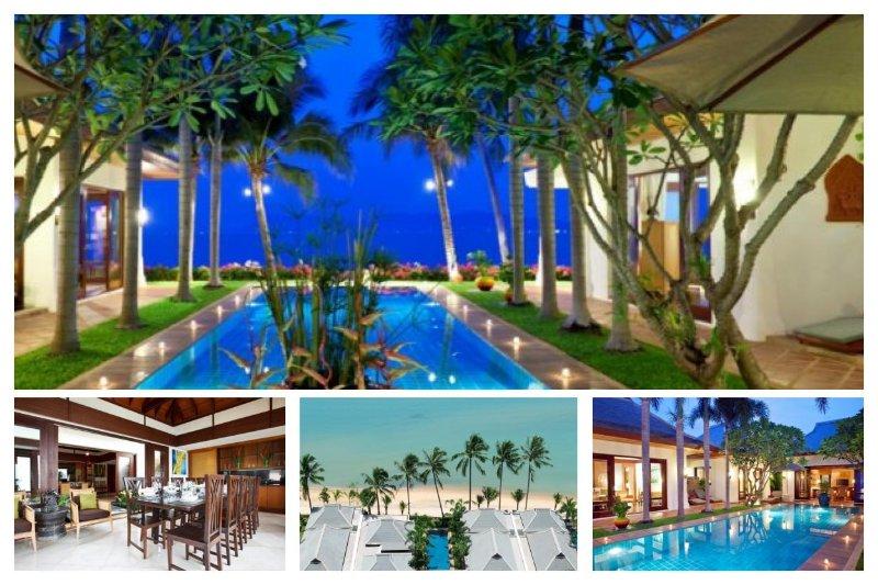Maenam 3091 - Luxury Beachfront with Chef Service - Image 1 - Mae Nam - rentals