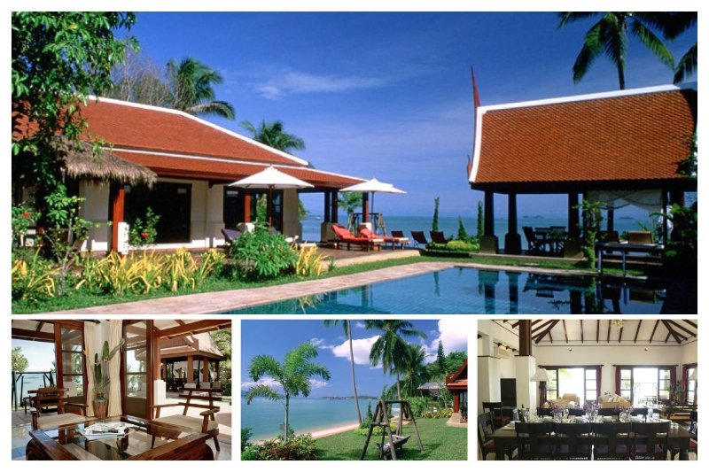 Maenam 3004 - Luxury Beachfront With Chef Service - Image 1 - Bophut - rentals