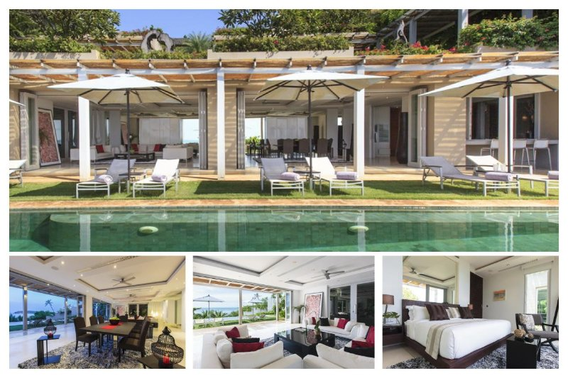 Chaweng 2166 - Luxury Beachfront with Chef Service - Image 1 - Bophut - rentals