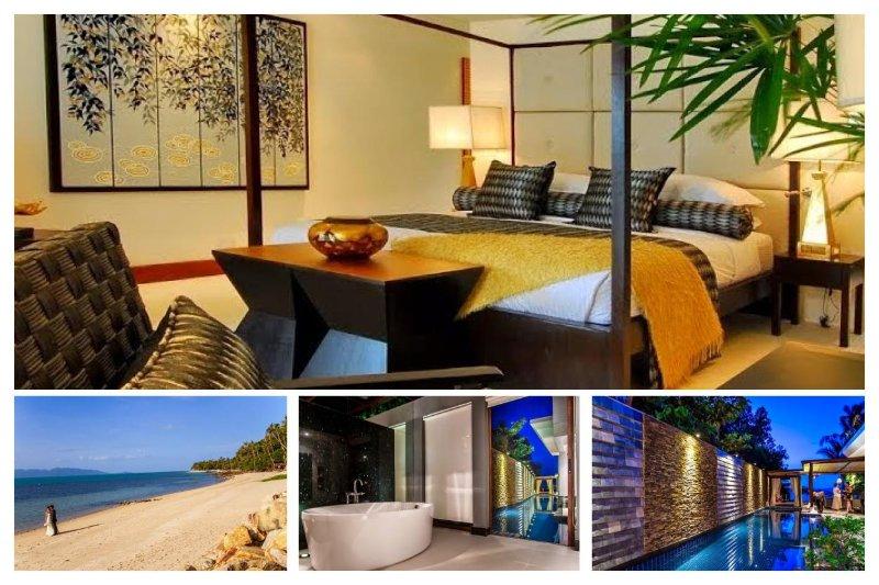 Bang Por 4014 - Luxury Beachfront and Chef Service - Image 1 - Mae Nam - rentals