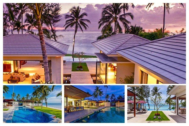 Lipa Noi 7032 - Luxury Beachfront and Chef Service - Image 1 - Lipa Noi - rentals