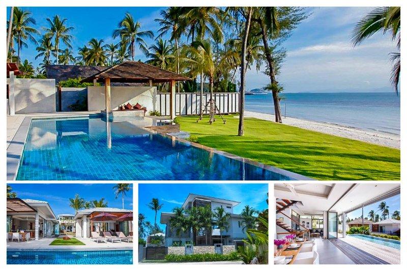 Lipa Noi 6032 - Luxury Beachfront and Chef Service - Image 1 - Lipa Noi - rentals