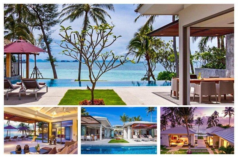 Lipa Noi 5032 - Luxury Beachfront and Chef Service - Image 1 - Lipa Noi - rentals